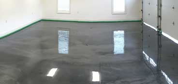 Metallic Garage Floor Epoxy