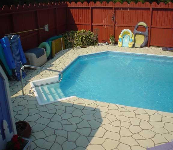 Process Of Pool Deck Resurfacing
